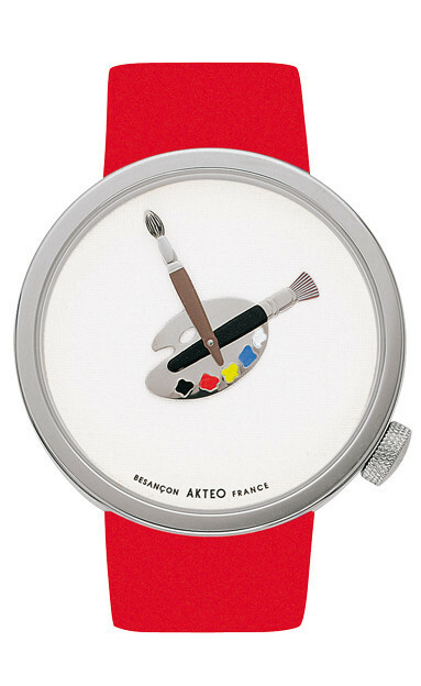 Akteo Horloge Paint 02 - 48 mm