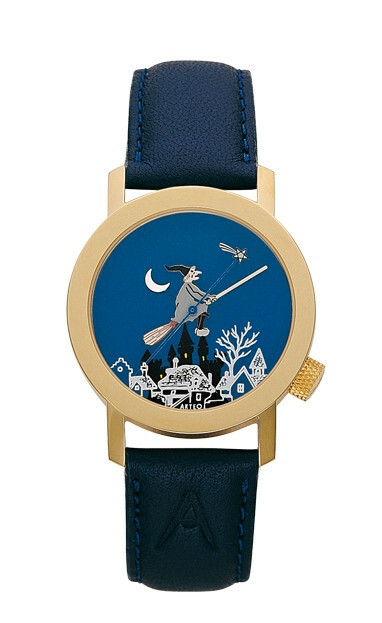 Akteo Horloge Heks Gold