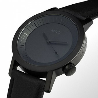 Akteo Horloge All Black 42 mm