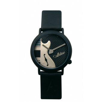 Akteo Horloge Gitaar elektrisch Zwart